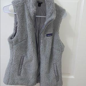 patagonia zip up vest